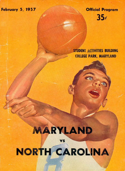1957MarylandBball