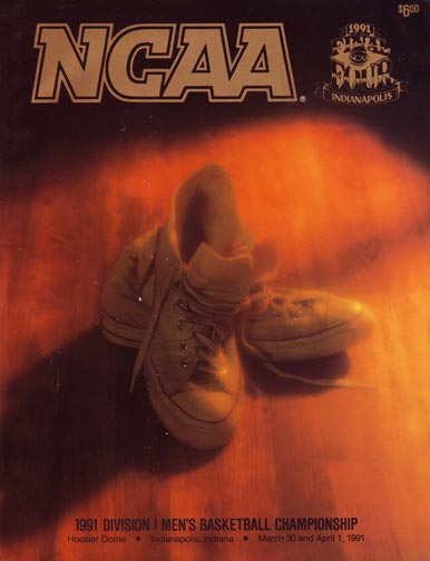 1991 Final Four Game Program