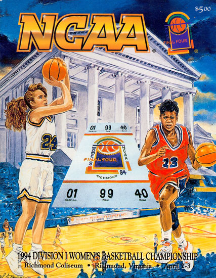 1994 Women Final Four Program