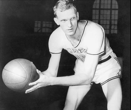 Bones McKinney UNC Basketball Photo