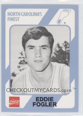 Eddie Fogler UNC Basketball Card