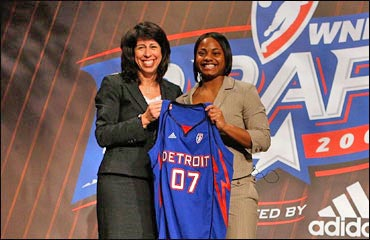 Ivory Latta Detroit Shock WNBA Draft