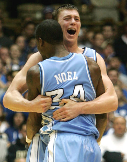 Tyler Hansbrough Beats Duke