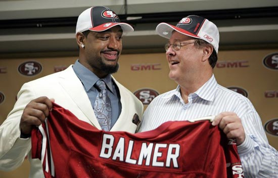 Kentwan Balmer Drafted by 49ers