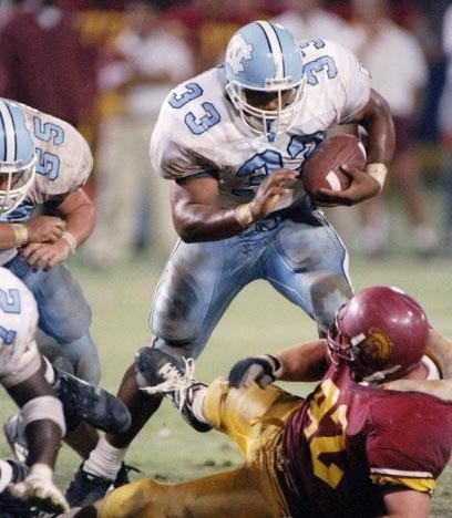 Photo: William Henderson vs USC - Tar Heel Times