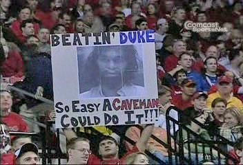 Photo Beating Duke So Easy A Caveman Could Do It Tar Heel Times