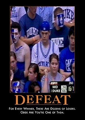 Photo: Duke Defeat - Tar Heel Times