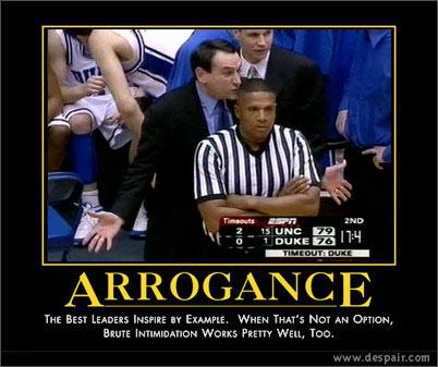Photo duke arrogance poster tar heel times