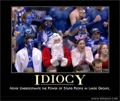 North Carolina >> Photo: Duke Idiocy Poster - Tar Heel Times