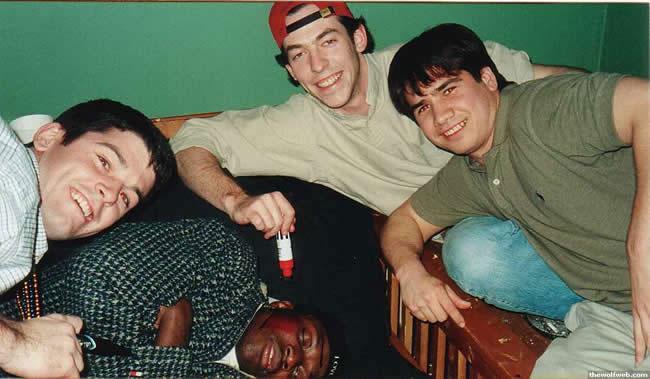 Photo: Reggie Love Frat Party - Tar Heel Times