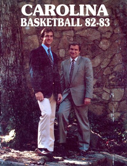 Photo: 1983 UNC Basketball Media Guide - Tar Heel Times