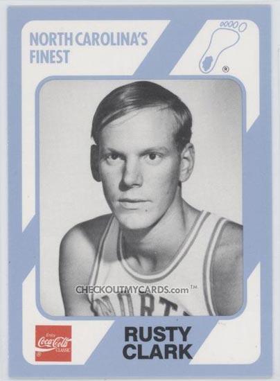 Photo: Rusty Clark UNC Basketball Card - Tar Heel Times