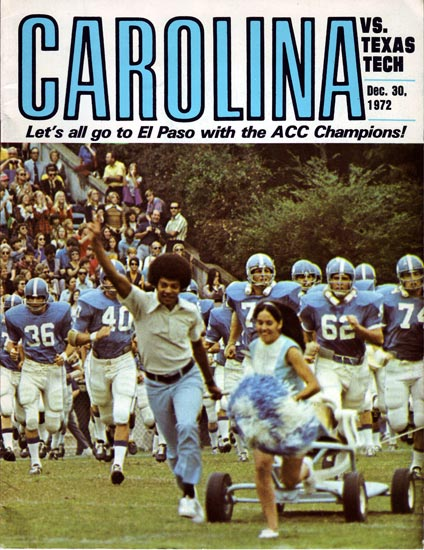 1972 Sun Bowl Media Guide